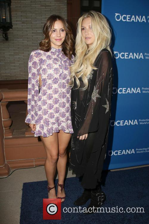 Katharine Mcphee and Kesha 1