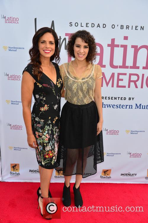 Soledad O'brien and Gaby Moreno 2