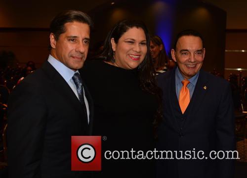 Alberto Carvalho, Gaby Pacheco and Dr. José A. Vicente 1