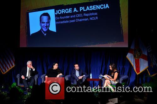 Dr. Pedro Jose Greer, Gaby Pacheco, Jorge Plasencia and Soledad O'brien 3