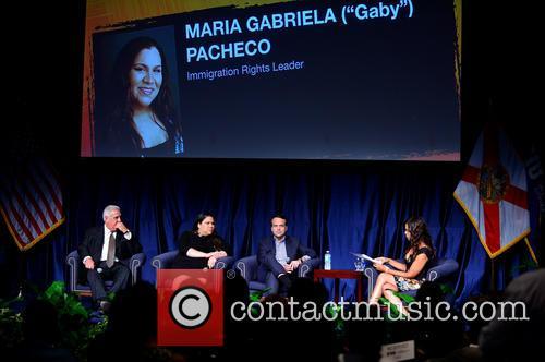 Dr. Pedro Jose Greer, Gaby Pacheco, Jorge Plasencia and Soledad O'brien 4