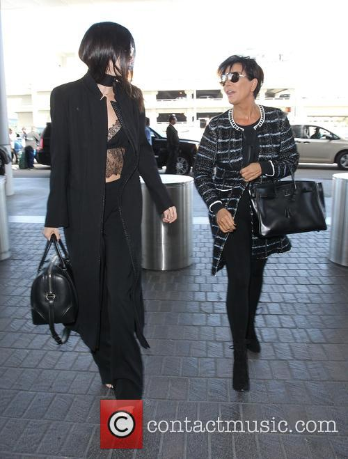 Kendall Jenner departs from Los Angeles International Airport