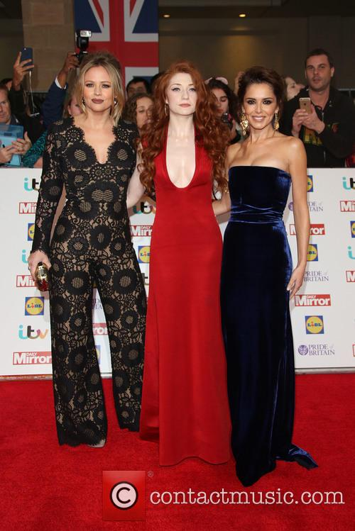 Kimberley Walsh, Nicola Roberts and Cheryl Cole