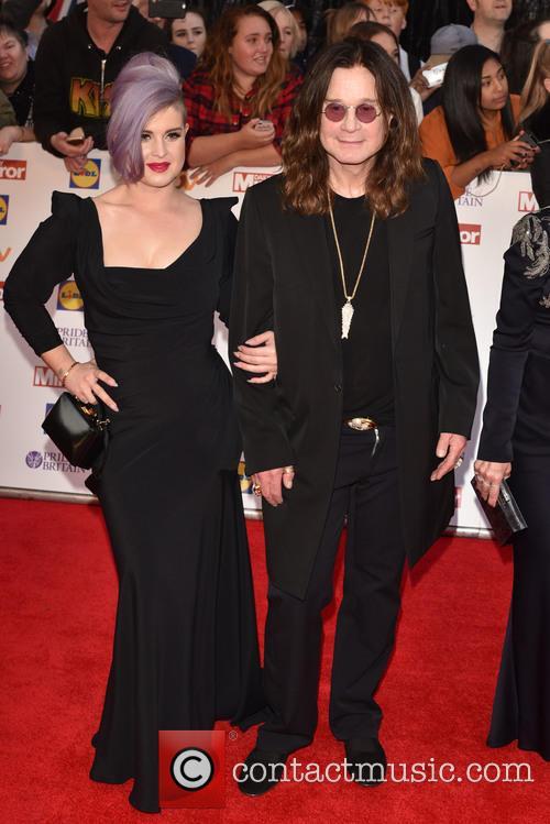 Kelly Osbourne and Ozzy Osbourne 1