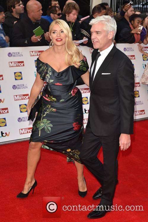 Holly Willoughby and Paul Schofield 4
