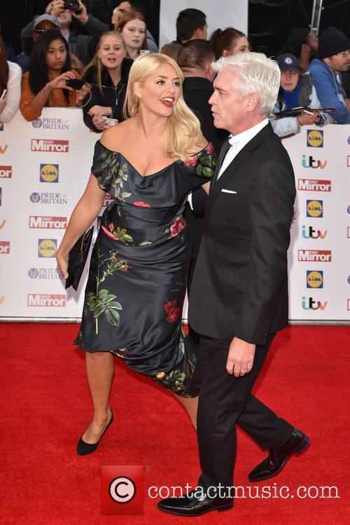 Holly Willoughby and Paul Schofield 5