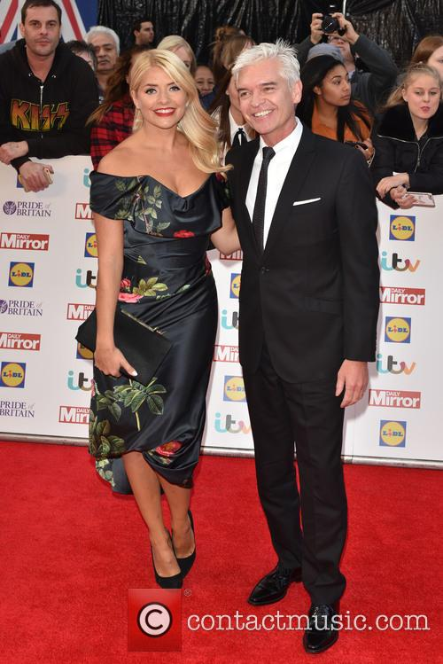 Holly Willoughby and Paul Schofield 1