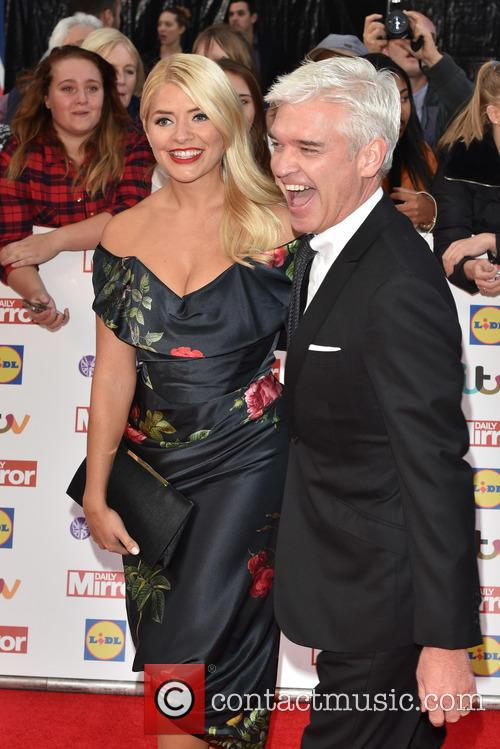 Holly Willoughby and Paul Schofield 7