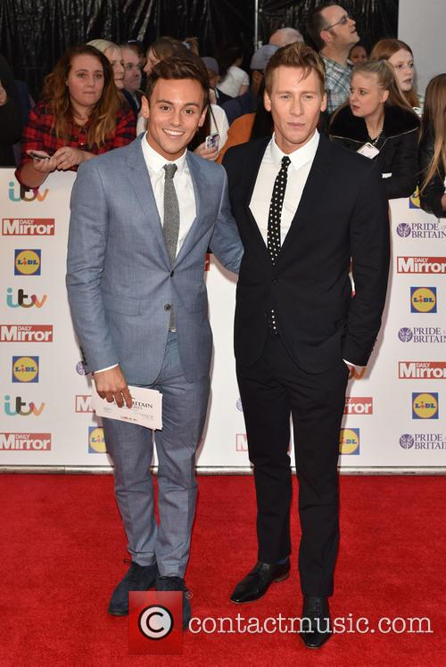 tom Daley and Dustin Lance Black 1