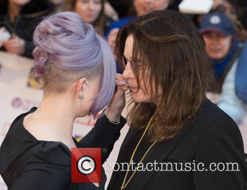 Kelly Osbourne and Ozzy Osbourne 1