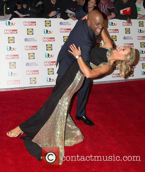 Ainsley Harriott and Natalie Lowe 1
