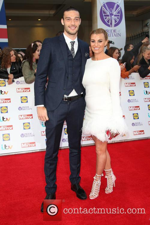 Billi Mucklow and Andy Carroll 1