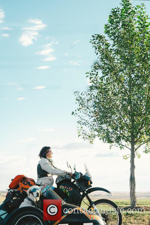 Riding Woof Across North America; The Motorbike Adventures...