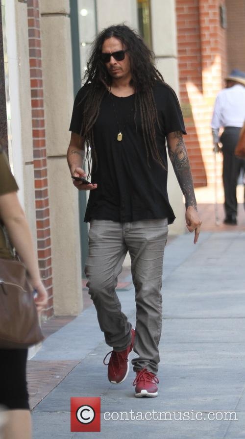James Shaffer goes shopping in Beverly Hills