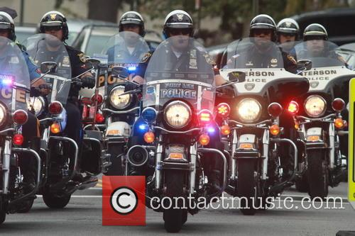Police Escort For Funeral 1