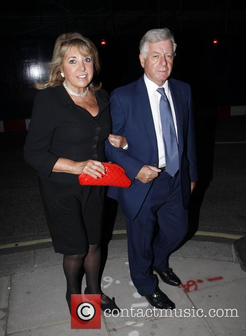 Leslie Bricusse and Eve Pollard