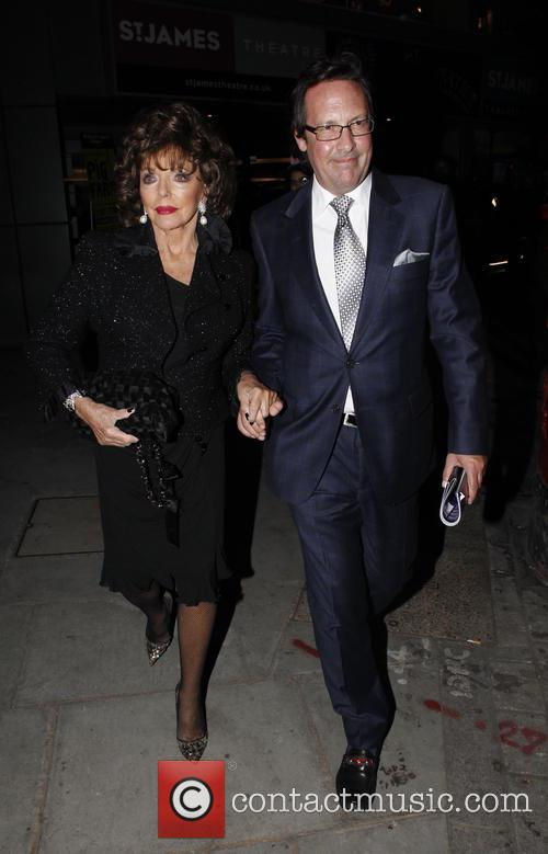 Joan Collins and Percy Gibson 8