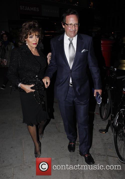 Joan Collins and Percy Gibson 9