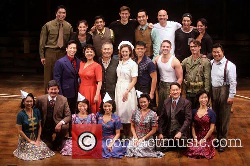 Michael K. Lee, Lea Salonga, George Takei, Katie Rose Clarke, Telly Leing, Scott Wise and Cast 1