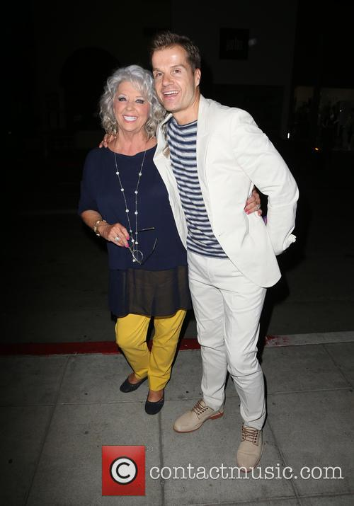 Paula Deen and Louis Van Amstel 2