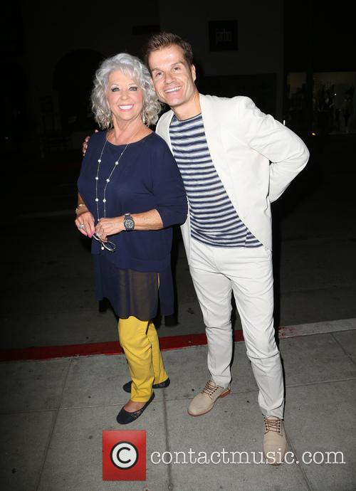 Paula Deen and Louis Van Amstel 3