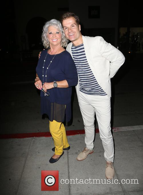 Paula Deen and Louis Van Amstel 4