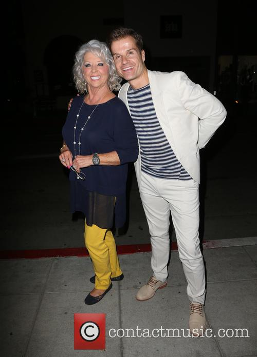 Paula Deen and Louis Van Amstel 5