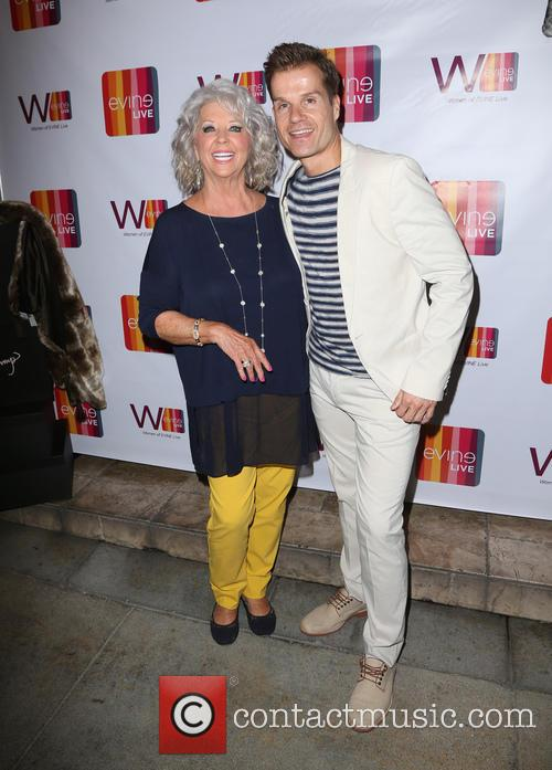 Paula Deen and Louis Van Amstel 6