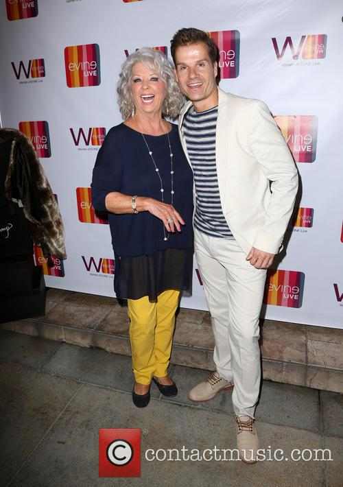 Paula Deen and Louis Van Amstel 8