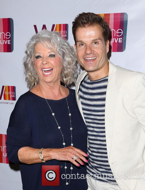 Paula Deen and Louis Van Amstel 9