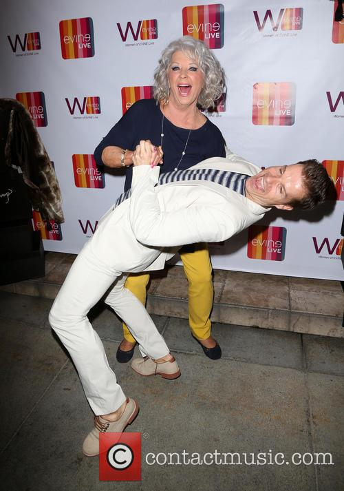 Paula Deen and Louis Van Amstel 10