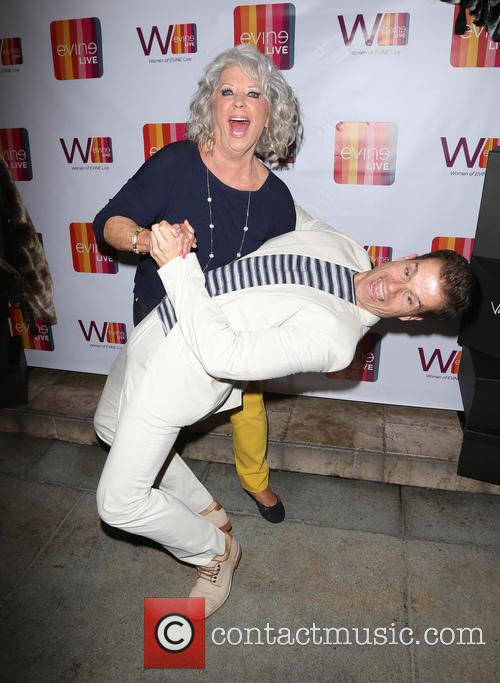 Paula Deen and Louis Van Amstel 11