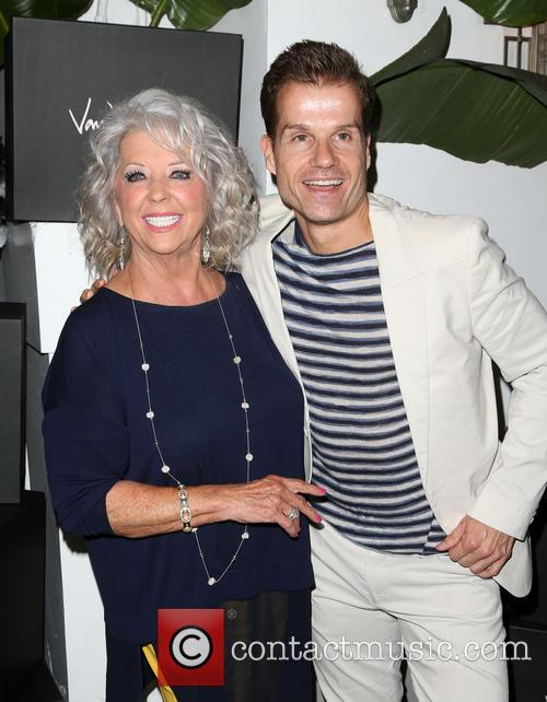 Paula Deen and Louis Van Amstel 1