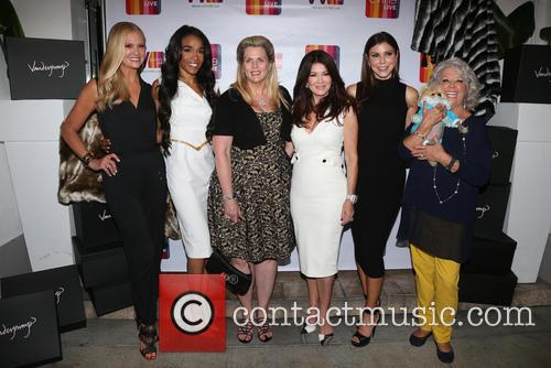 Nancy O'dell, Michelle Williams, Nancy Davis, Lisa Vanderpump, Heather Dubrow, Paula Deen and Giggy 2