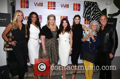 Nancy O'dell, Michelle Williams, Nancy Davis, Lisa Vanderpump, Heather Dubrow, Paula Deen, Giggy and Dr.terry Dubrow 3