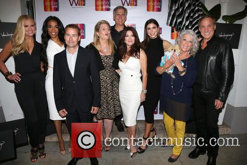Nancy O'dell, Michelle Williams, Nancy Davis, Lisa Vanderpump, Heather Dubrow, Paula Deen, Giggy and Dr.terry Dubrow 1