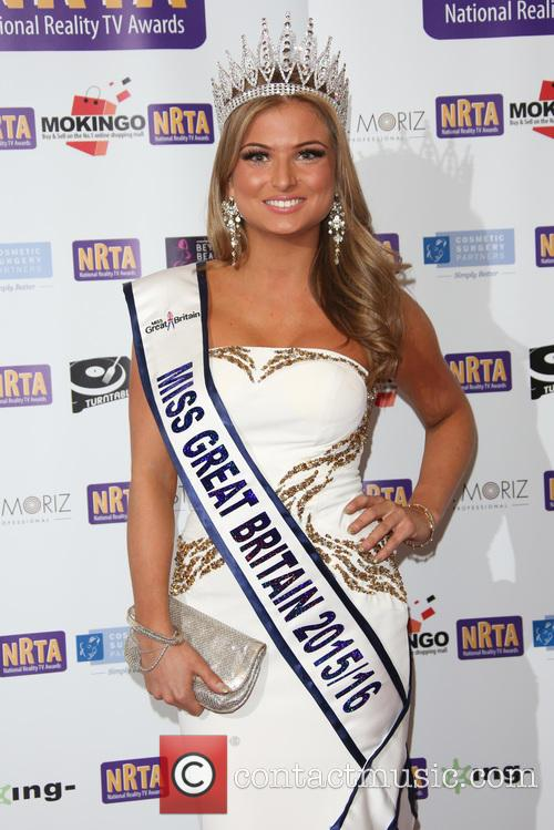 The National, Miss Great Britain 2015 and Zara Holland 1