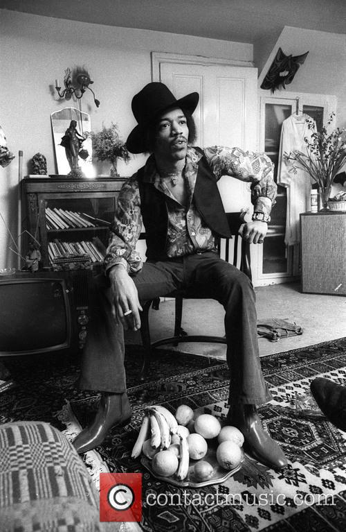 Jimi Hendrix at Handel House Museum in London