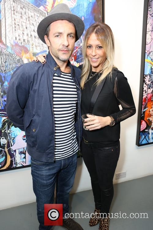 Dan Baldwin and Nicole Appleton 2