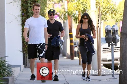 Matt Damon and Luciana Barroso 3