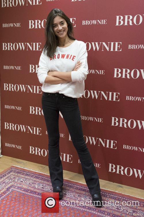 Model Rocio Crusset presents new Brownie collection