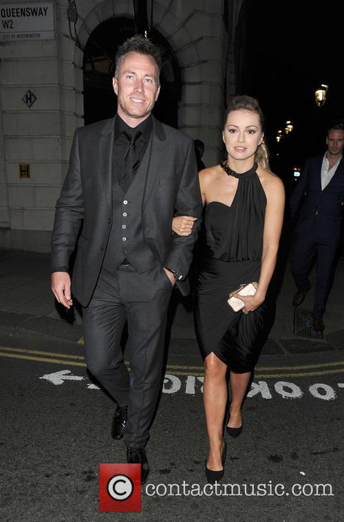 Celebrities leaving the National Reality TV Awards, held...