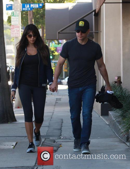 Matt Damon and Luciana Barroso 8