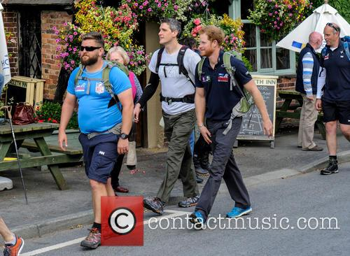Prince Harry joins Walk of Britain 2015: Walking...