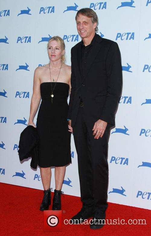 Tony Hawk and Catherine Goodman 1