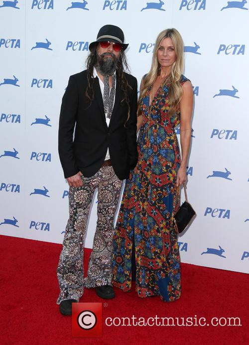 Sheri Moon Zombie and Rob Zombie 2