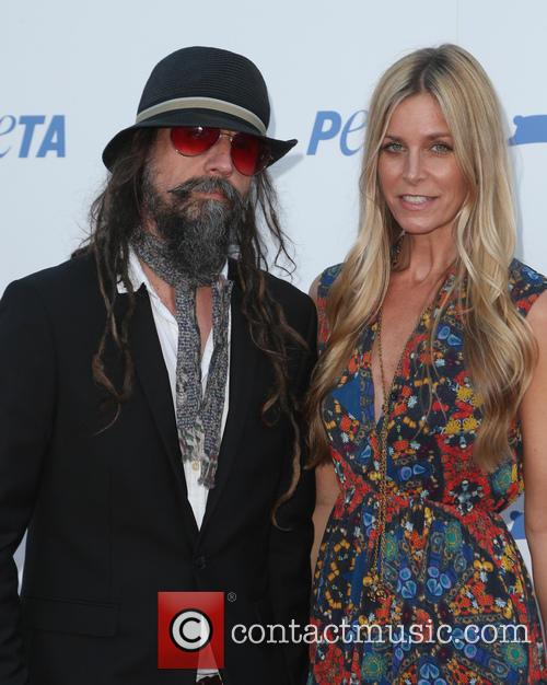 Sheri Moon Zombie and Rob Zombie 1