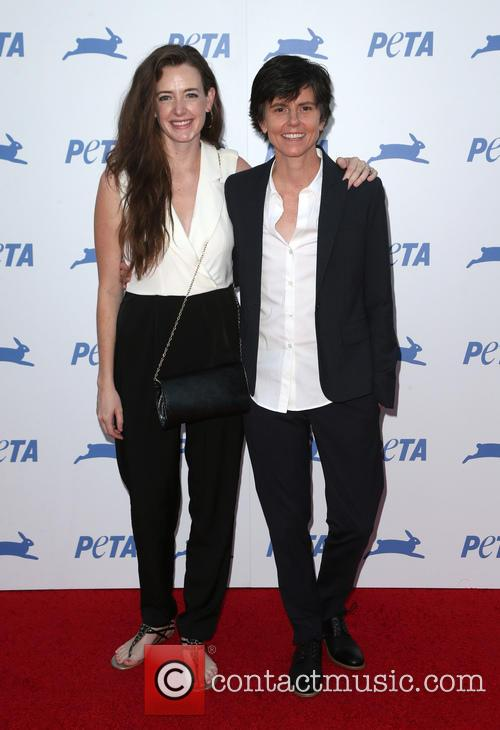 Tig Notaro and Stephanie Allyne 1