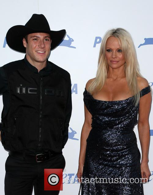 Pamela Anderson and Luke Gilford 1