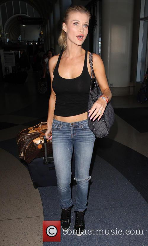 Joanna Krupa departs from Los Angeles International Airport